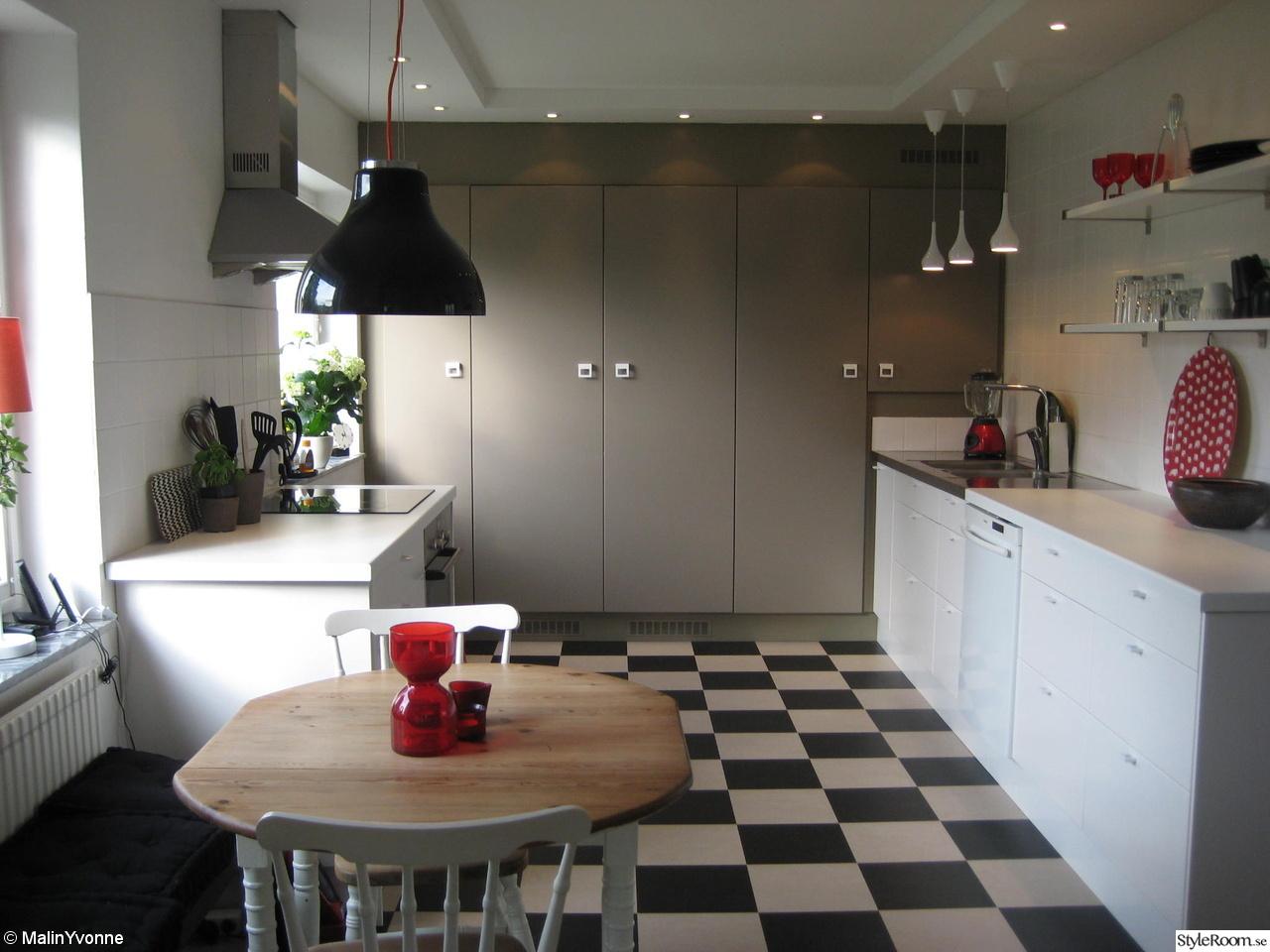 Kok Med Rutigt Golv : kok rutigt golv  Bilder, Kok matplats, Rutigt golv, Kokso Hemnet