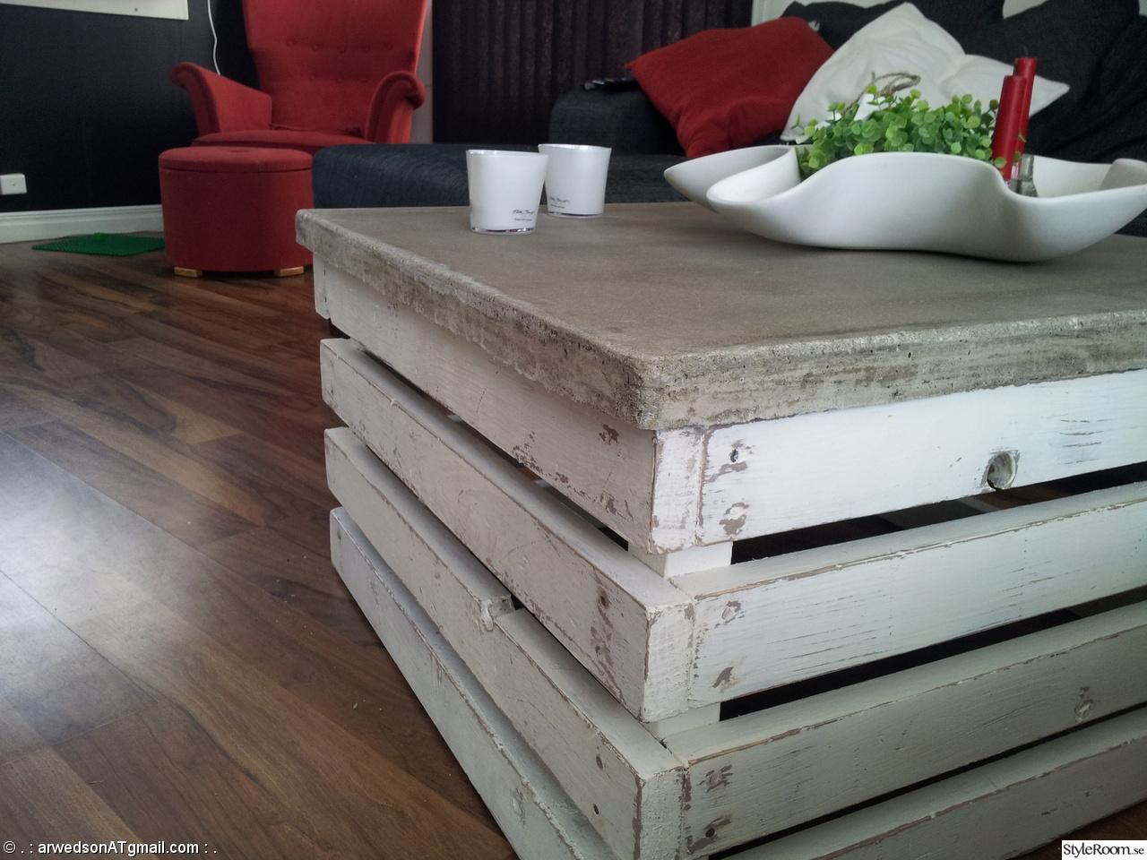 Trä, betong och bilder...   hemma hos arwedson