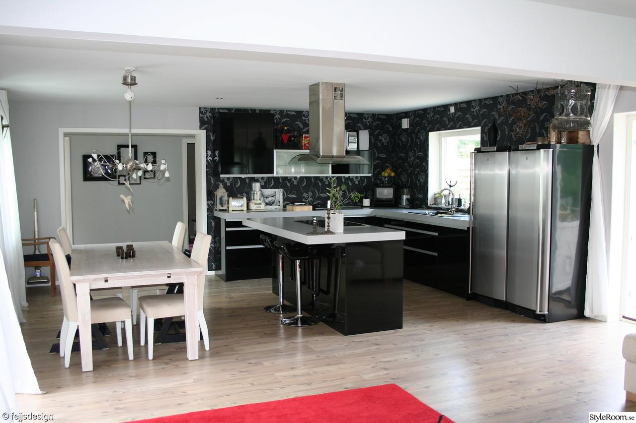 Bild på öppen planlösning kök/vardagsrum   jupiter   kÖk av desint
