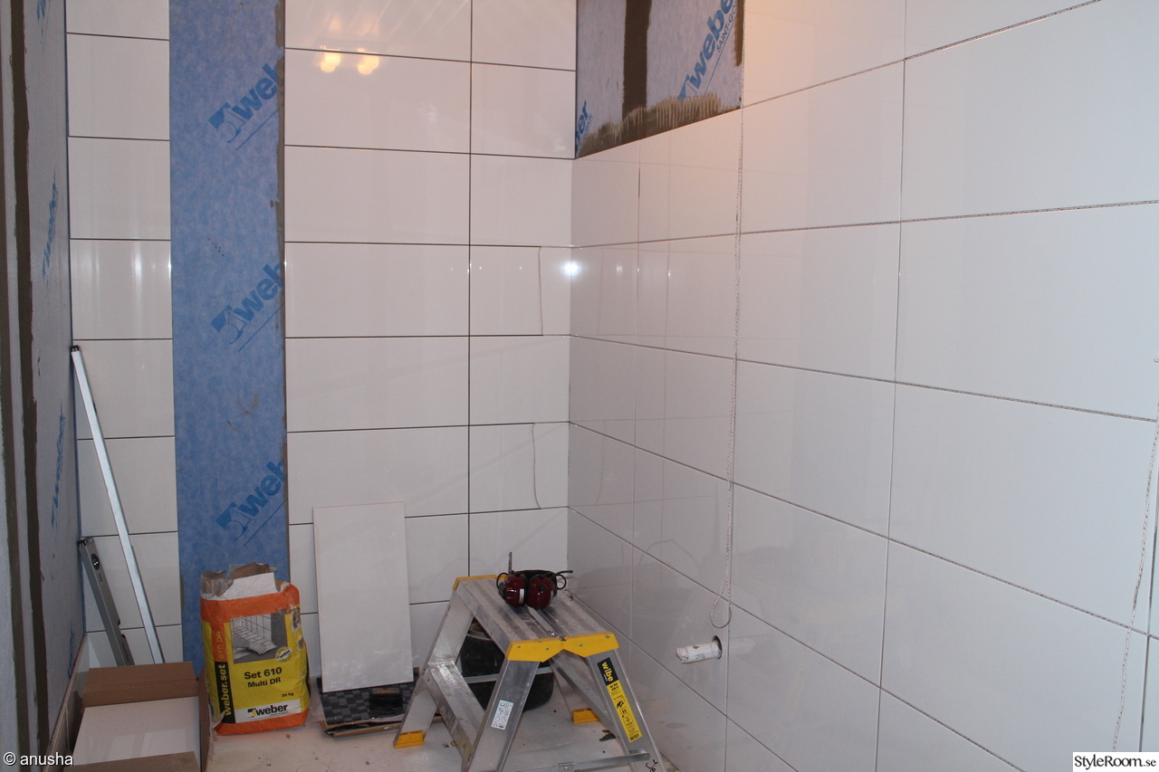 Bild på badrummet nytt - Renovering av hela Kattegatthuset vårt ...