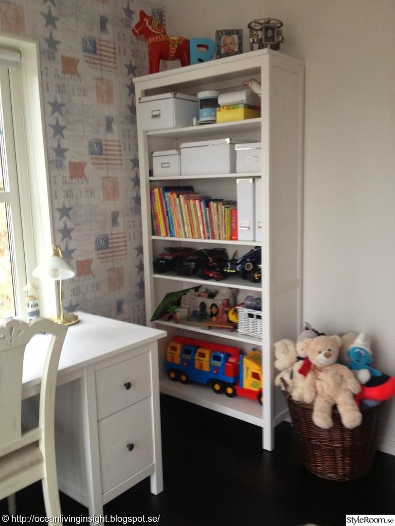 bokhylla barnrum ~ new england husbygge  ett inredningsalbum på styleroom av