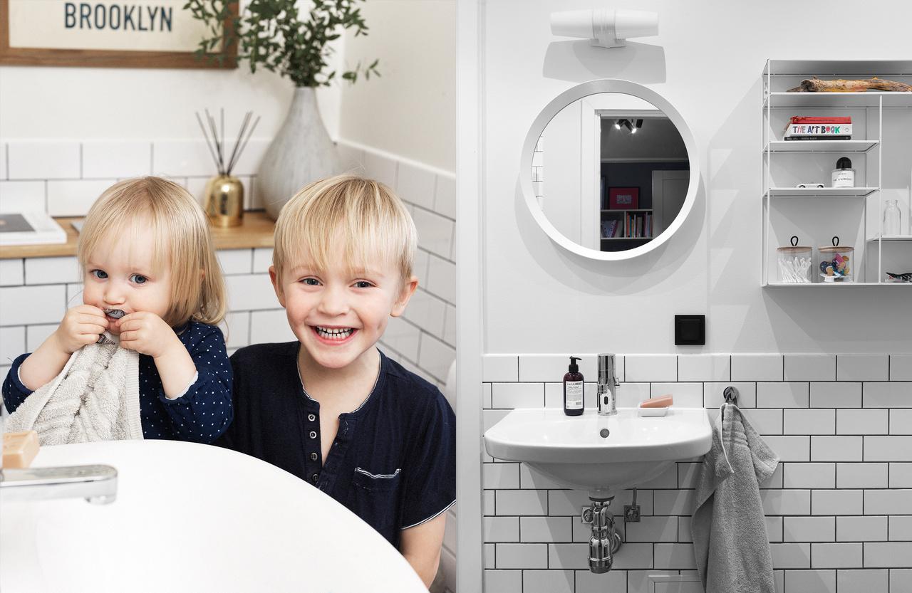 Barnens eget badrum! - Gustavsbergs inredningsblogg