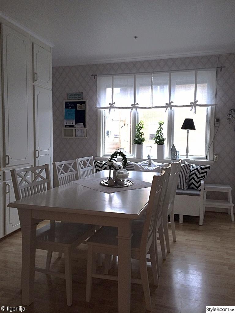 Lantliga Koksbord : lantligt koksbord  Matgrupp fron serien Tofta Ljuvligt vitt matbord