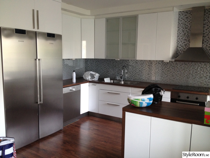 Renovering av vår gamla bostadsrätt, köksrenovering nr 1 Ett inredningsalbum på StyleRoom av