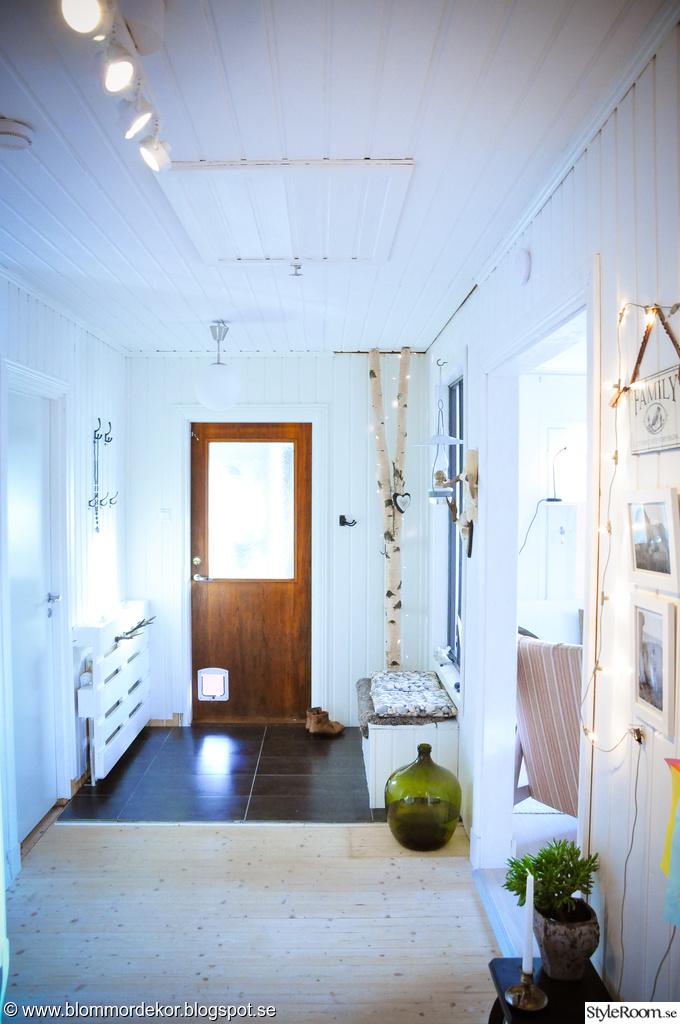 Hallen före och efter Ett inredningsalbum på StyleRoom av Friand