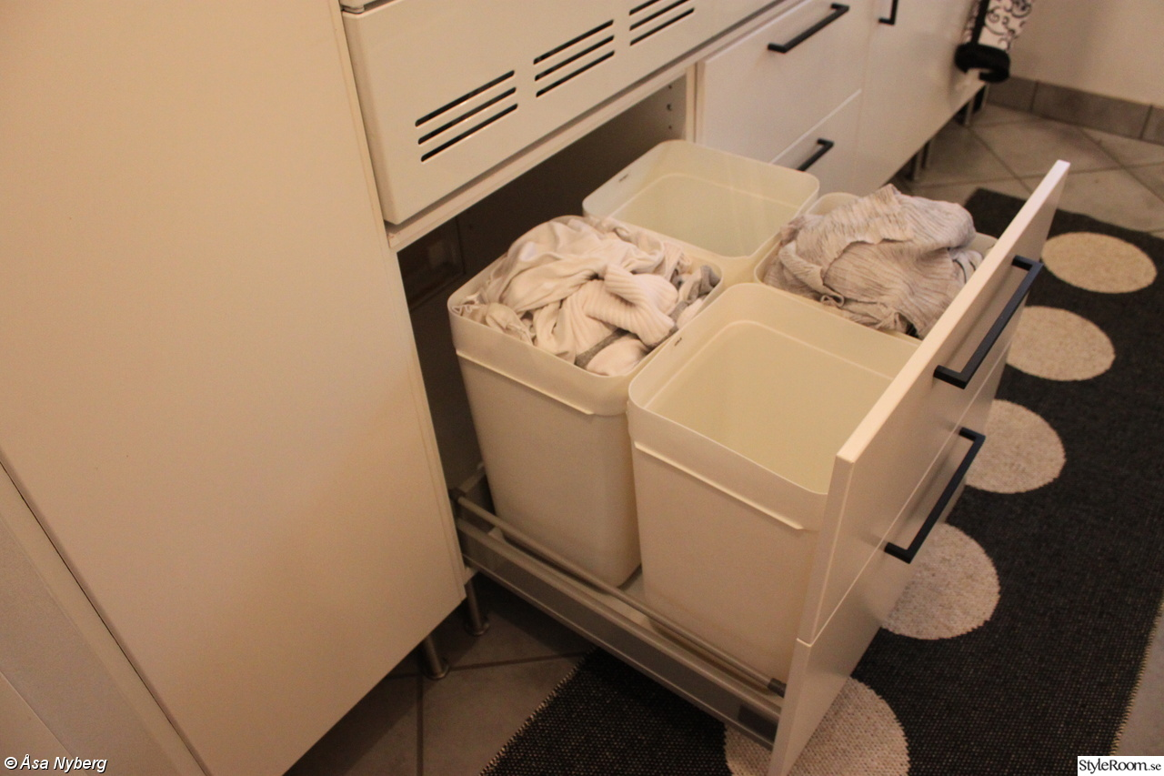 Hur man gömmer sin smutstvätt:)   hemma hos asanyberg