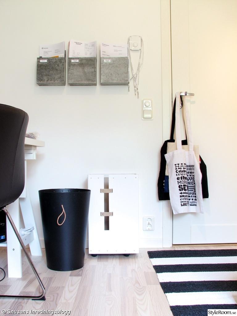 Arbetsrum i grått och vitt - Inspiration och idéer till ditt hem