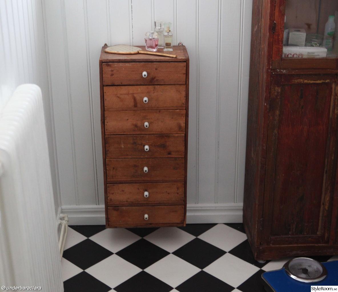 Bild på rutigt golv - Tvättstuga av chili