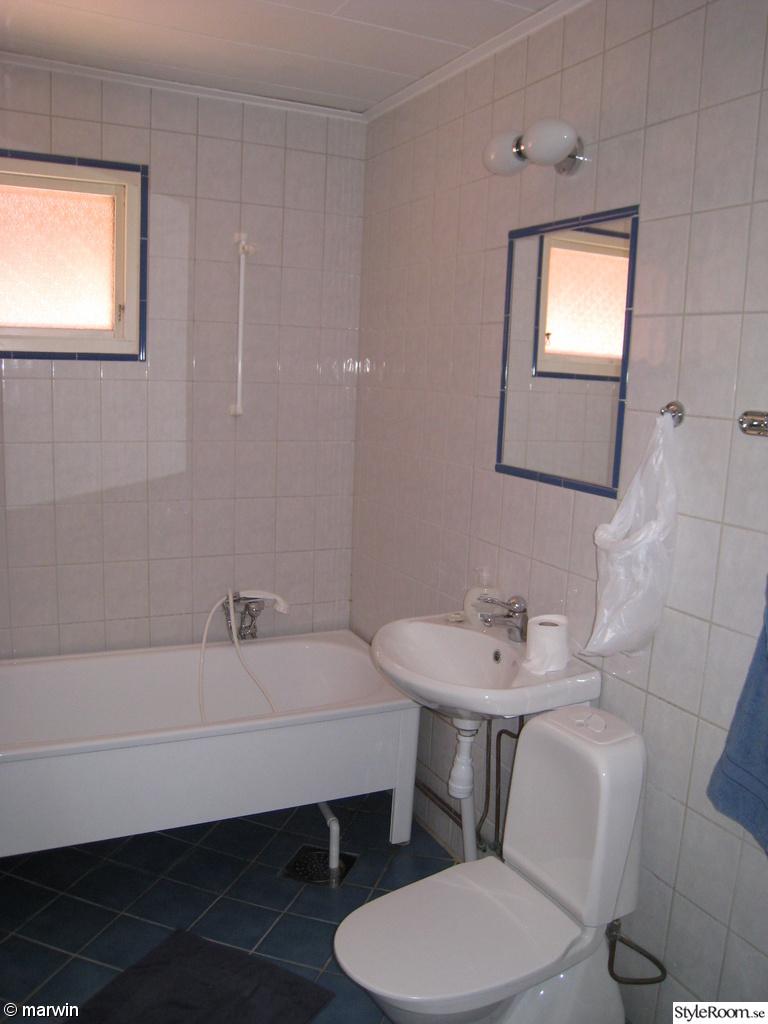 Badrummet / tvättstugan i huset   hemma hos marwin