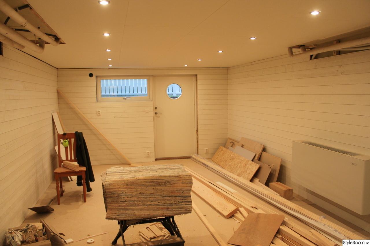 Renoveringen av källaren går åt rätt håll!! - Hemma hos Tulpanen
