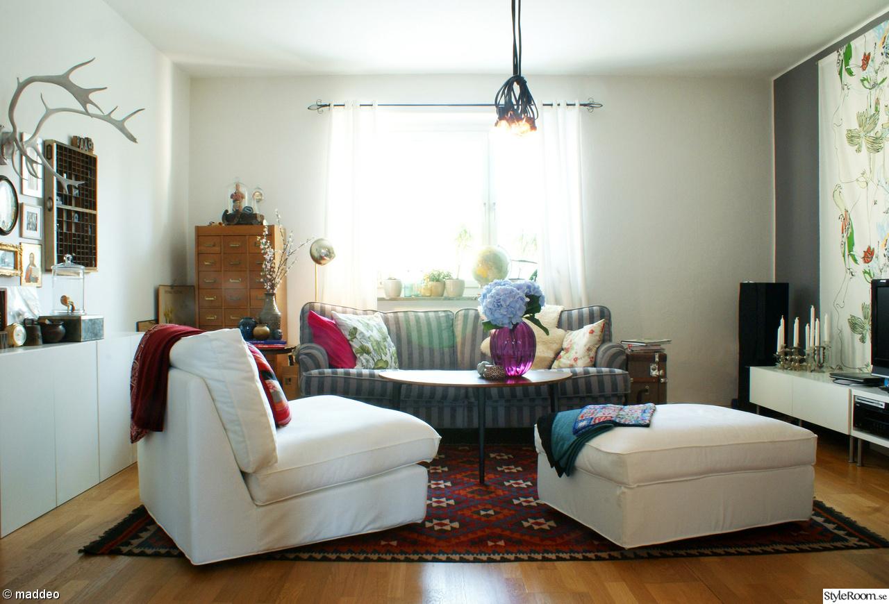 Vardagsrummet   hemma hos maddeo