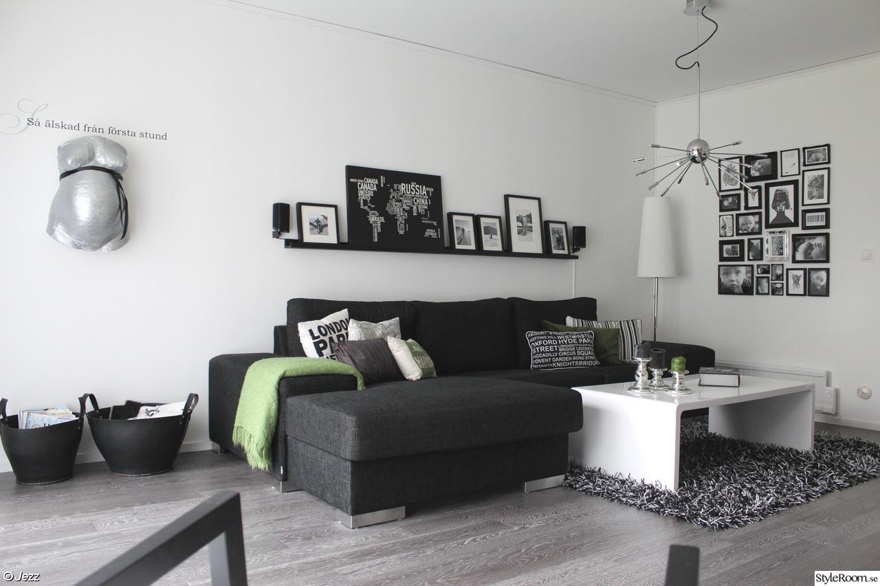 Stilren och funktionell inreding för lägenhet.   hobby, fritid och ...