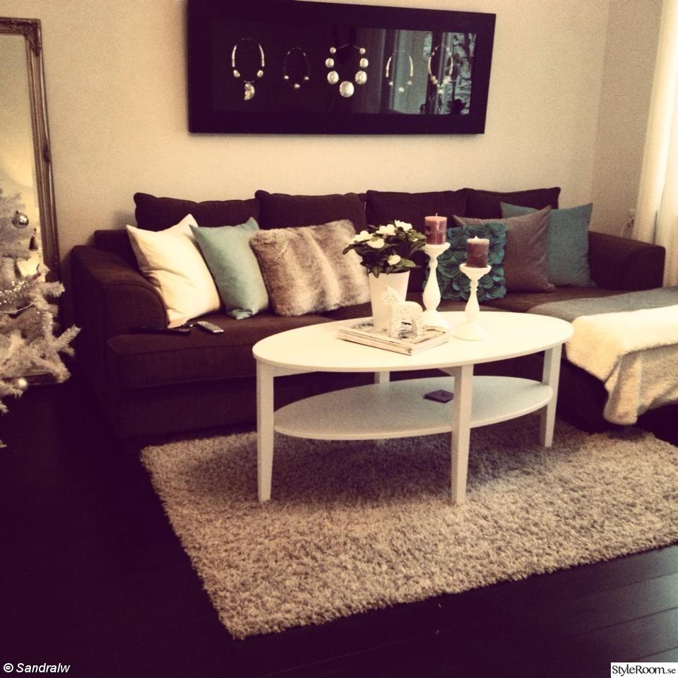 Bild på turkos soffa - 74KVM, KÖKET + vardagsrummet av roxannasandberg