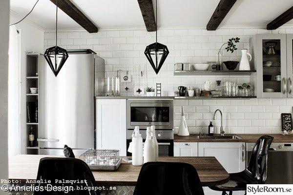 Svarta Kakelplattor Kok : grott kok hth  miele kylskop,frys,diskbonk,bonkskiva,kokso