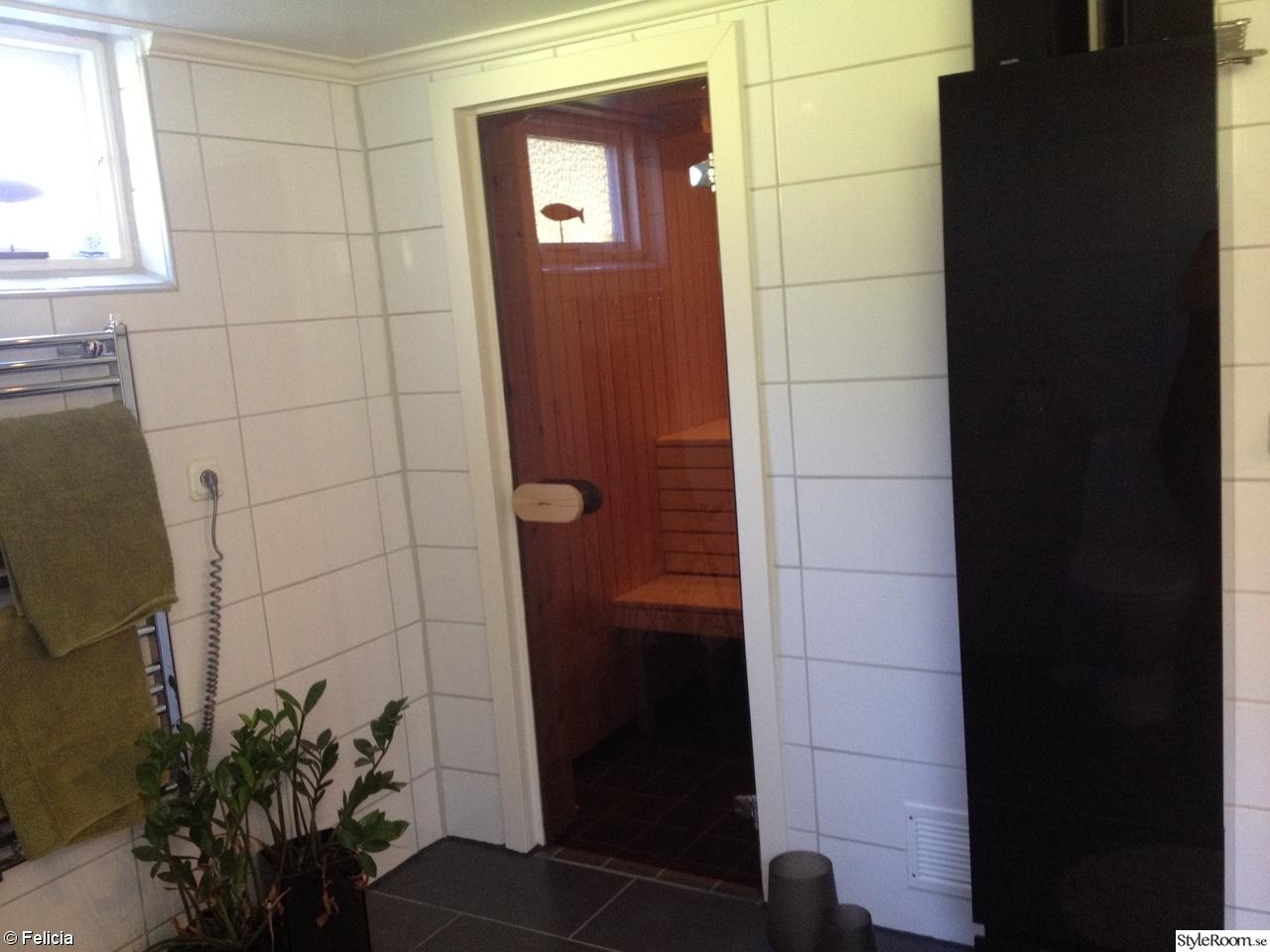 Litet badrum med bastu ~ xellen.com