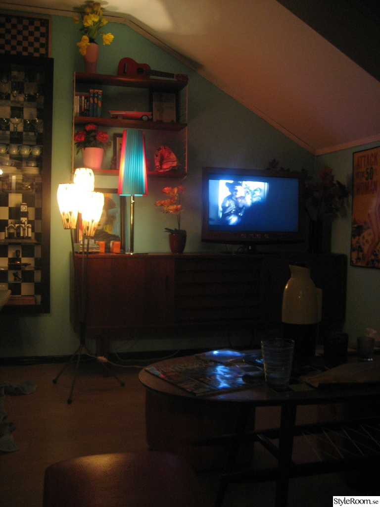50-tal,retro,teak,sideboard,tv,soffbord,lampa,plastband,nostalgi ...
