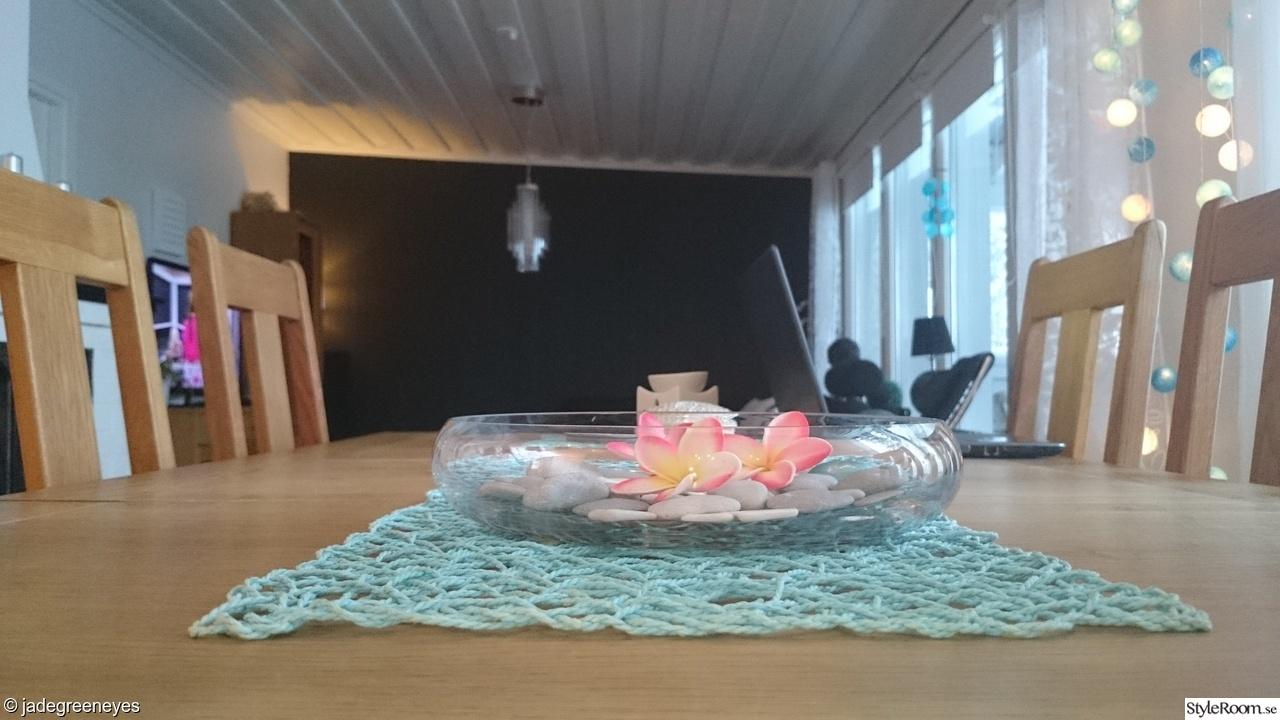 Ikea Kok Turkos : ,kitchen table,turkos,turqoise,oak tree table,ekbord,stenar,mio,ikea