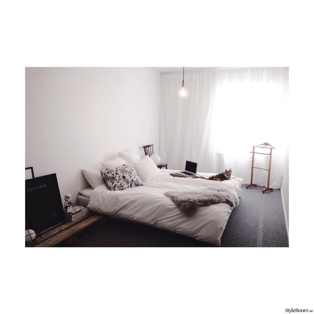 Sovrummet   vår vita oas   hemma hos linneanatalie