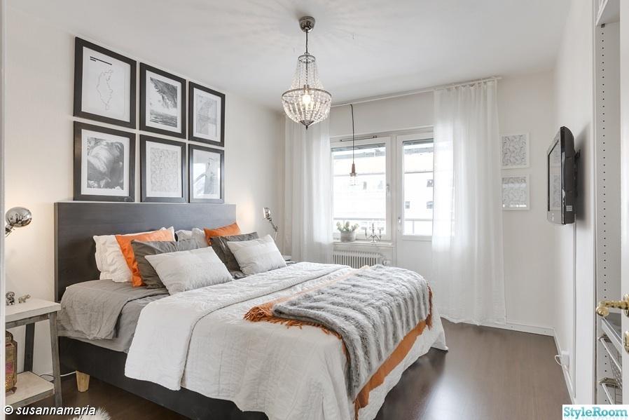 tavelvägg sovrum