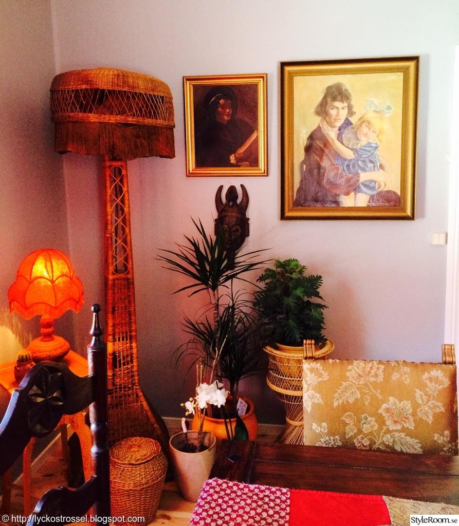 En del av mitt bohemiska vardagsrum   hemma hos bombalina