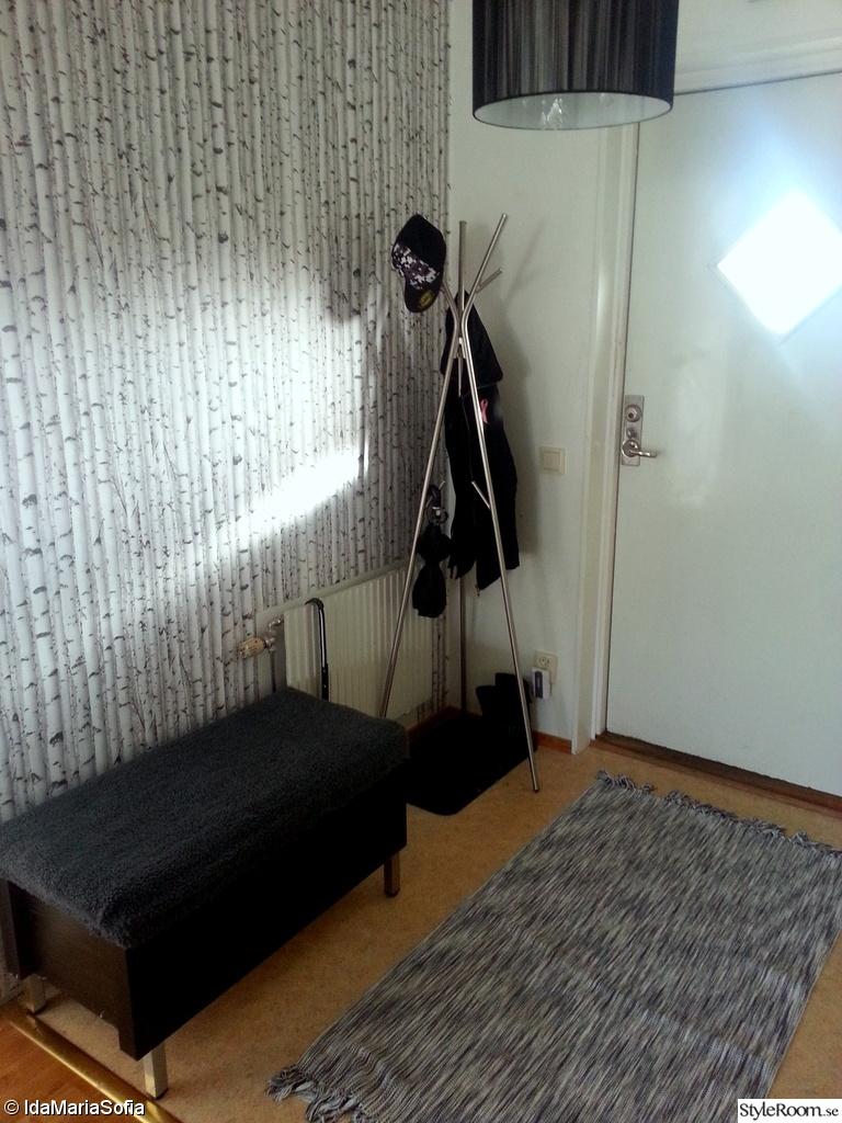 Hallen i lägenheten Ett inredningsalbum på StyleRoom av IdaMariaSofia