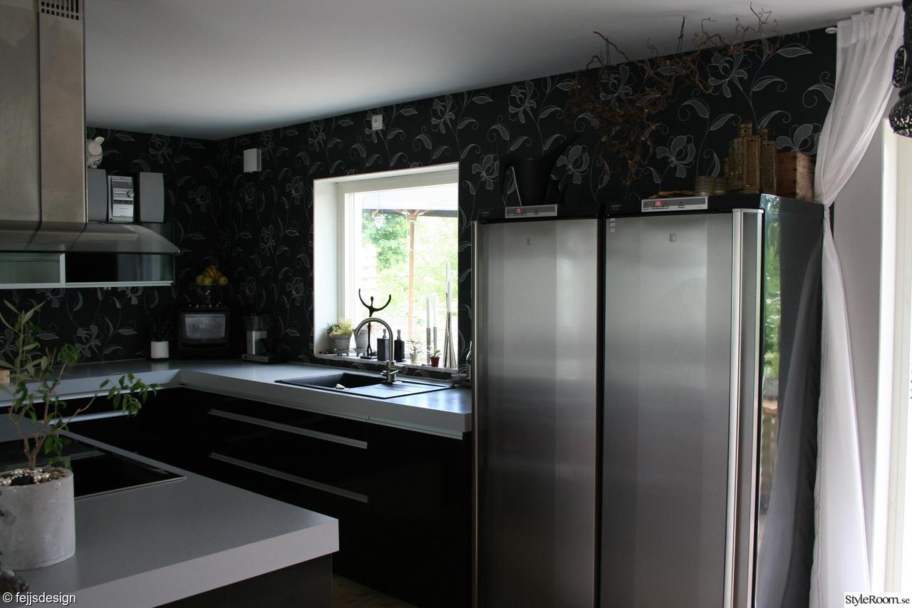 Vardagsrum och kök i öppen planlösning - Ett inredningsalbum på StyleRoom av fejjsdesign