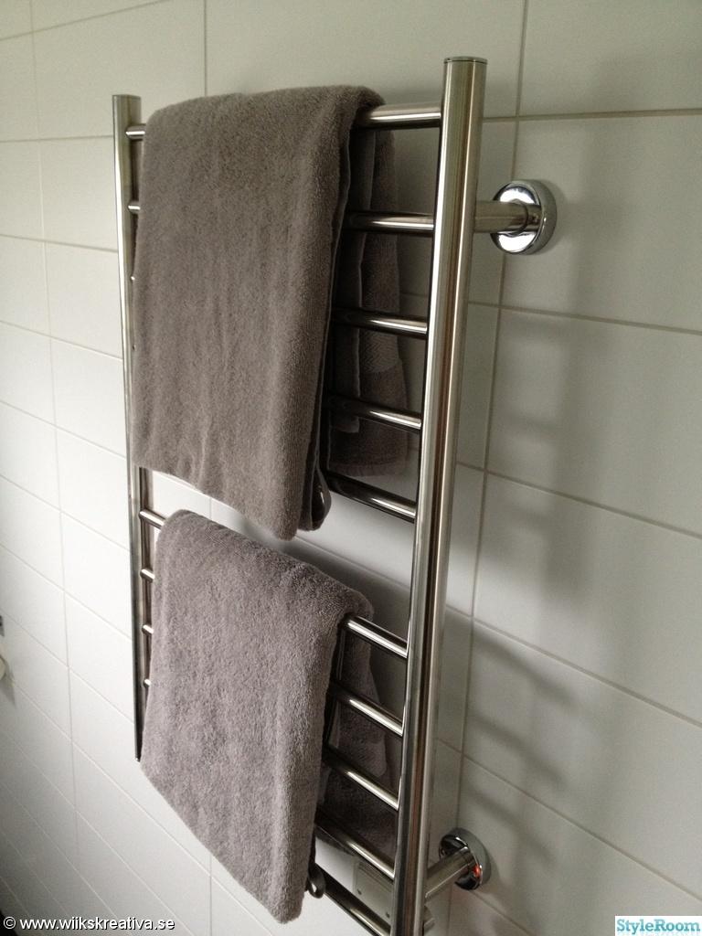 Bild på grått kakel   nya badrummet av pysseliten