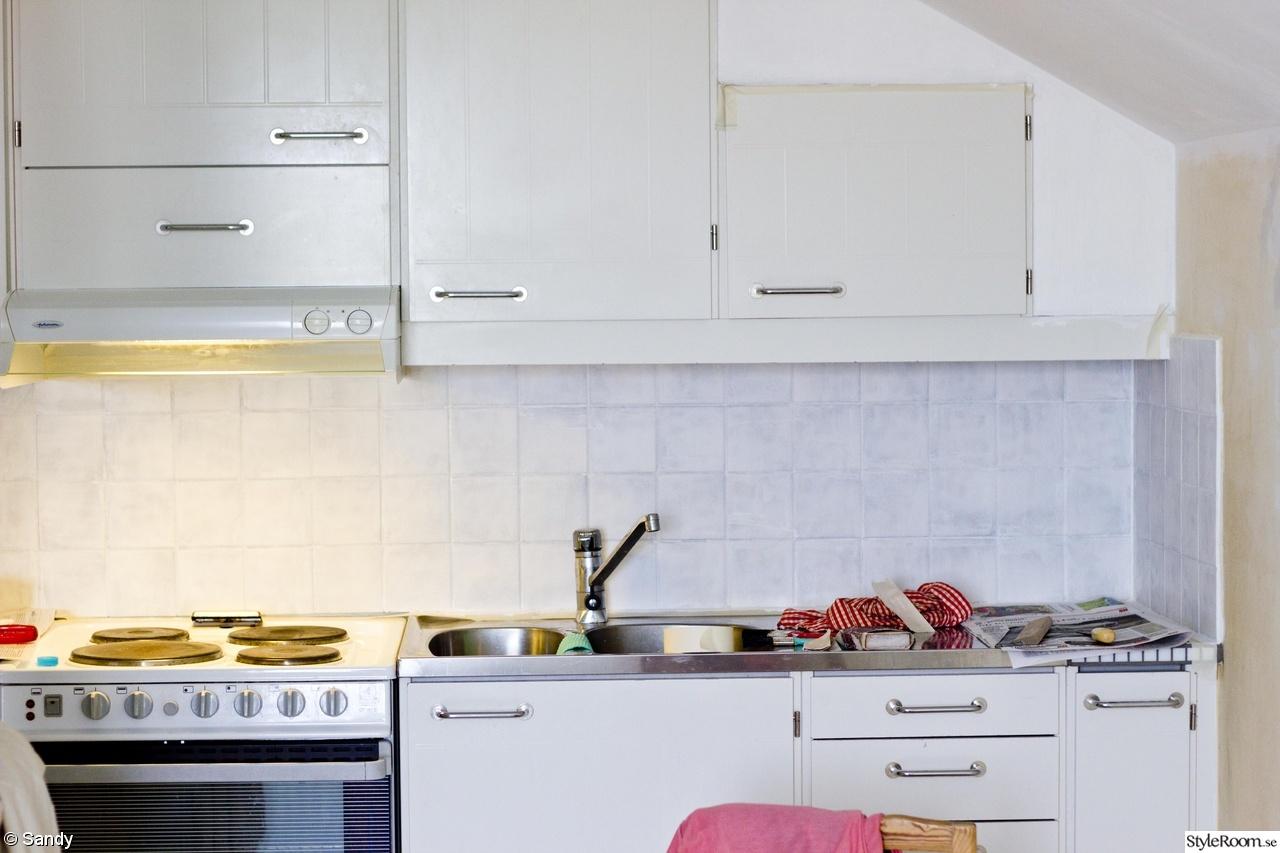 måla kakelfog kök