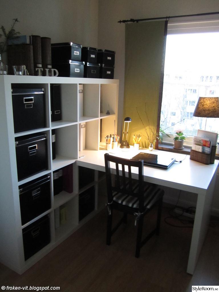 bokhylla,skrivbord,ikea