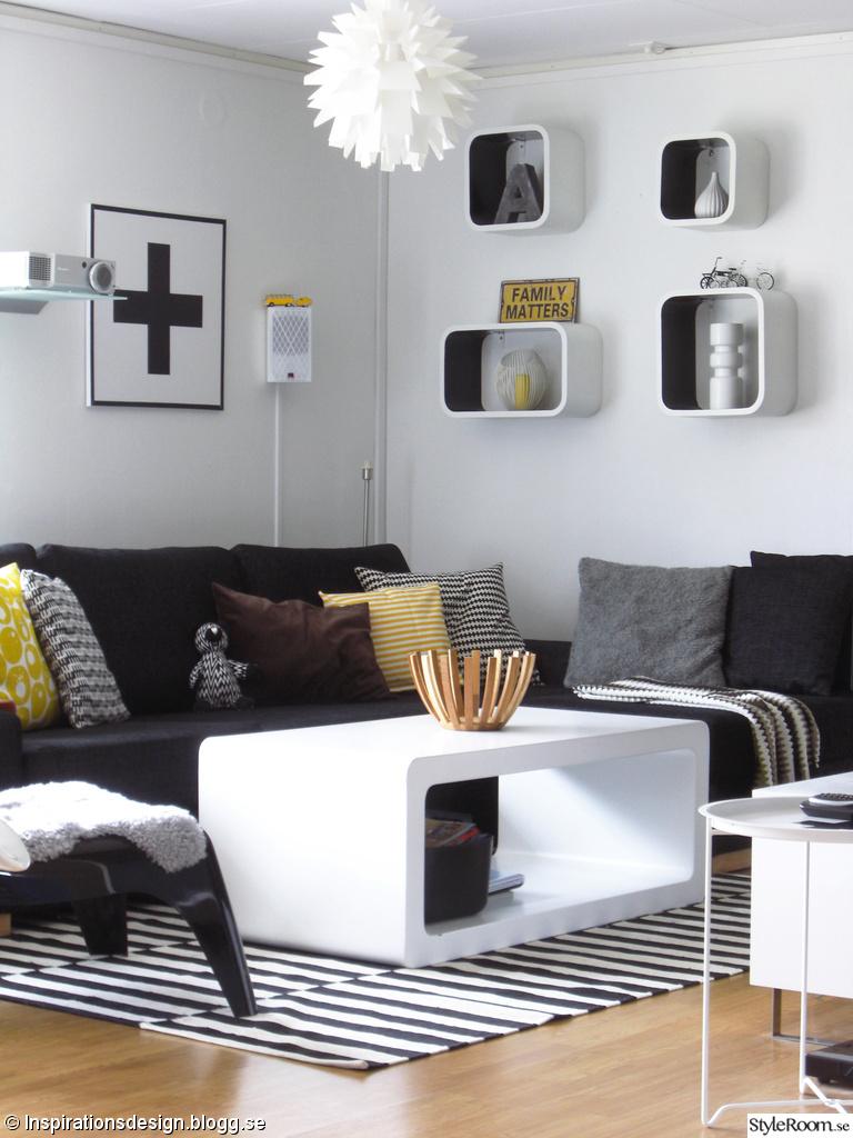 Svart soffa   inspiration och idéer till ditt hem