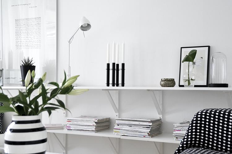 Hyllor Vardagsrum ~ Interiörinspiration och idéer för hemdesign