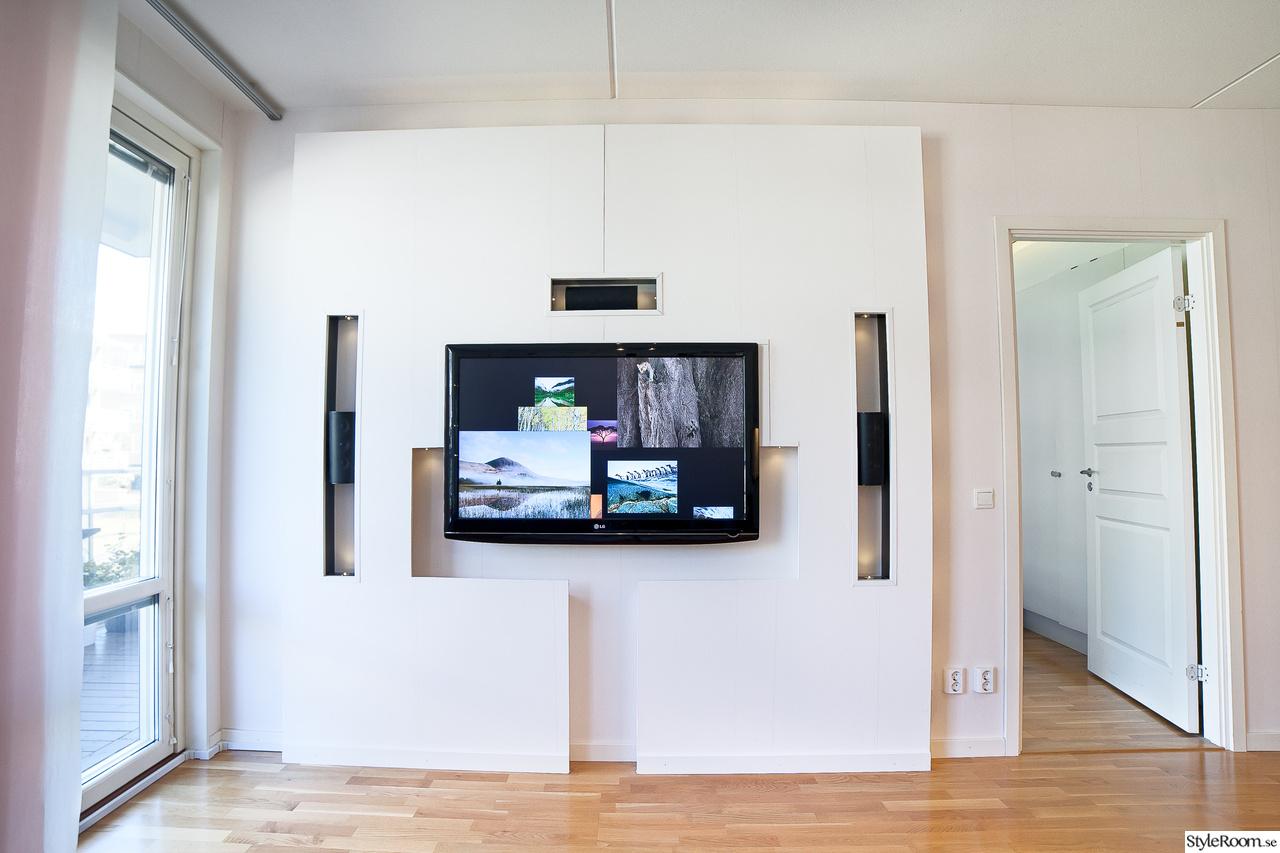 Bild på tv vägg   vardagsrum m öppen planlösning av mina83