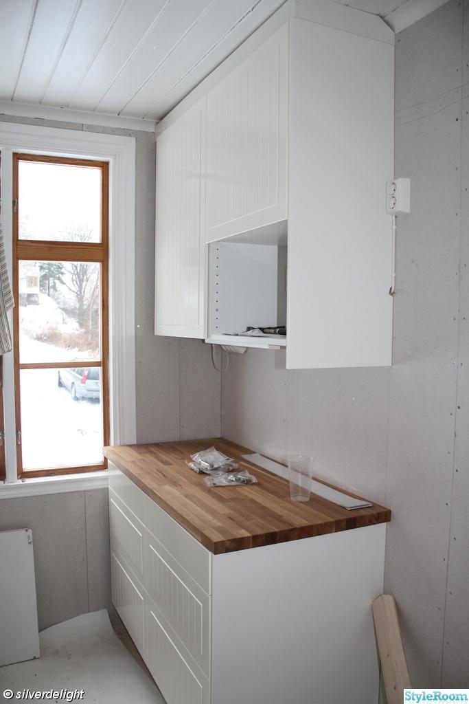 Bankskiva Kok Ikea : kok bonkskiva ek  Ek vitpigmenterad hordvaxad o Nytt kok badrum