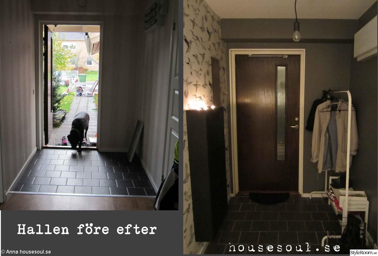 Bild på fondvägg och golv - Sovrums renovering av Emmasvilla