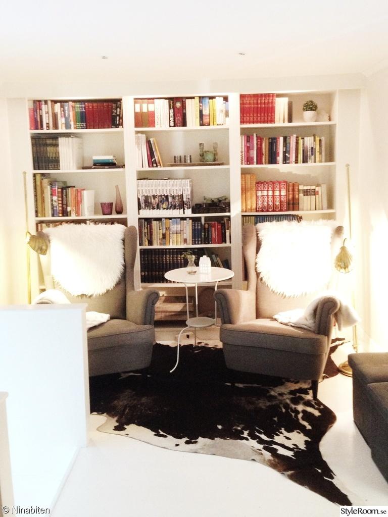 Vårt lilla vardagsrum blev bibliotek Ett inredningsalbum på StyleRoom av Ninabiten