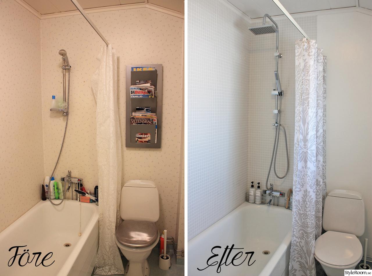 Bild på badrumsrenovering   renovering av trettiotrekvadrat