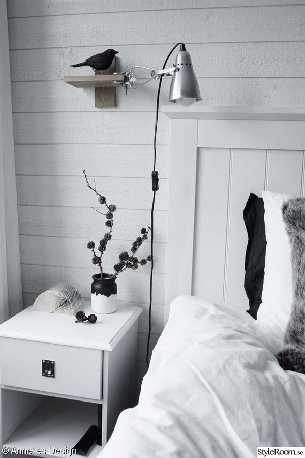 Renoverat sovrum före och efterbilder Ett inredningsalbum på StyleRoom av Svartvittochrott