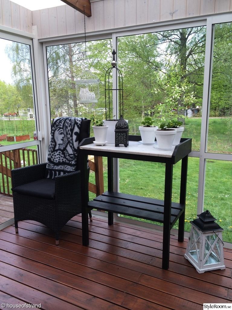 Altanen verandan Ett inredningsalbum på StyleRoom av houseofstrand