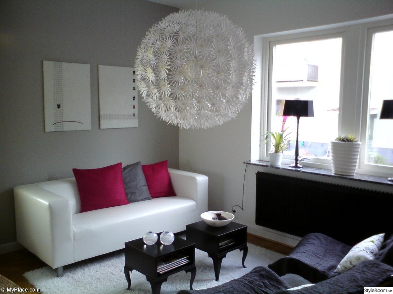 Bild på lampa i vardagsrum   vardagsrummet av systertaki