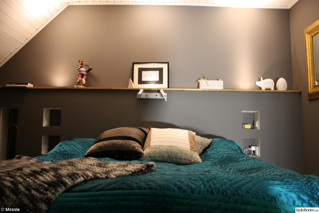Grå sänggavel   inspiration och idéer till ditt hem