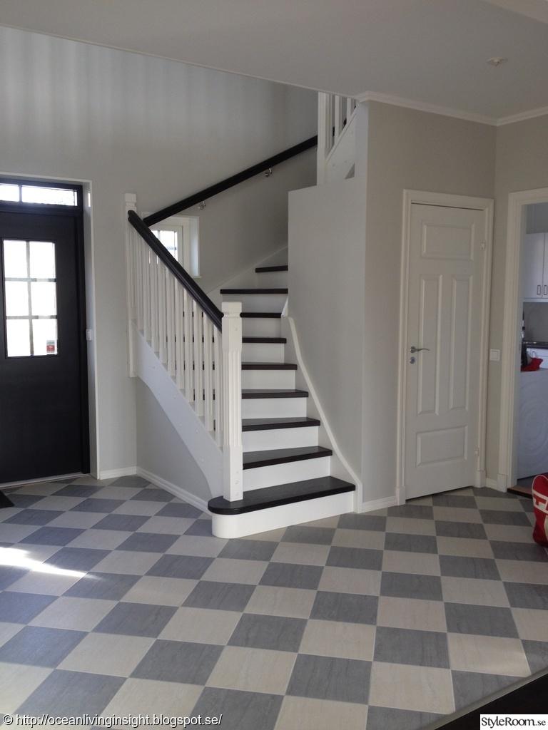 Bild på trappa   fasaden av villauppochner