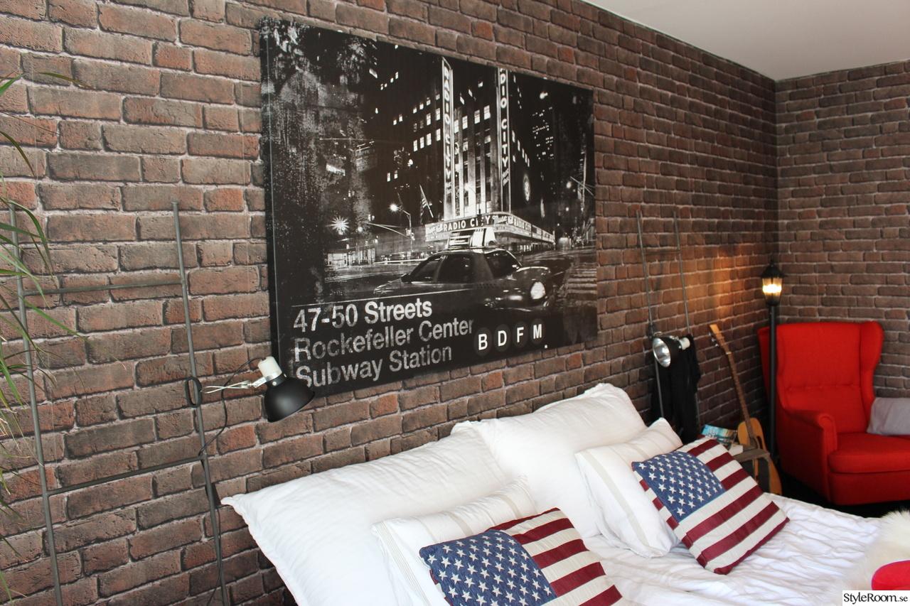 Bild på sovrum tavla   hemma på vår gata av graset