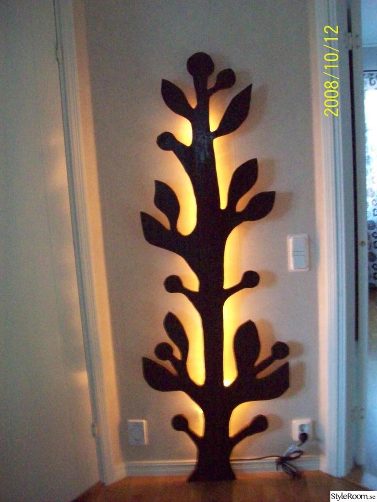 Träd med ljus bakom Ett inredningsalbum på StyleRoom av annkai