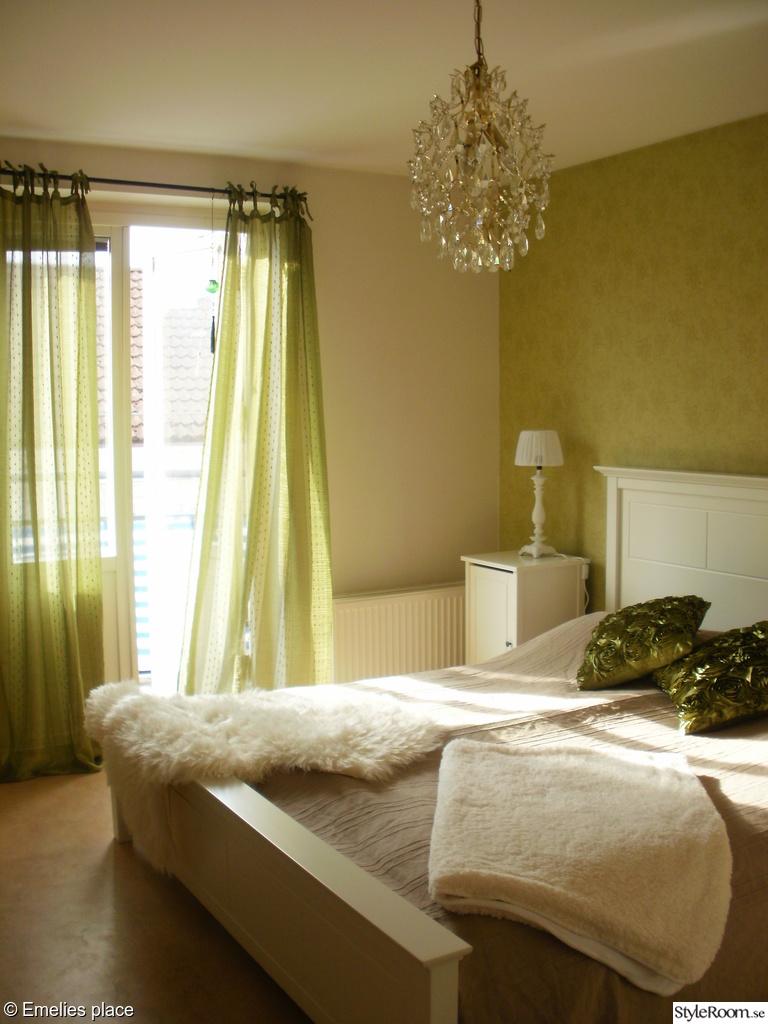 Bild på sovrum grönt - Nya lägenheten...en månad efter inflytt av ...