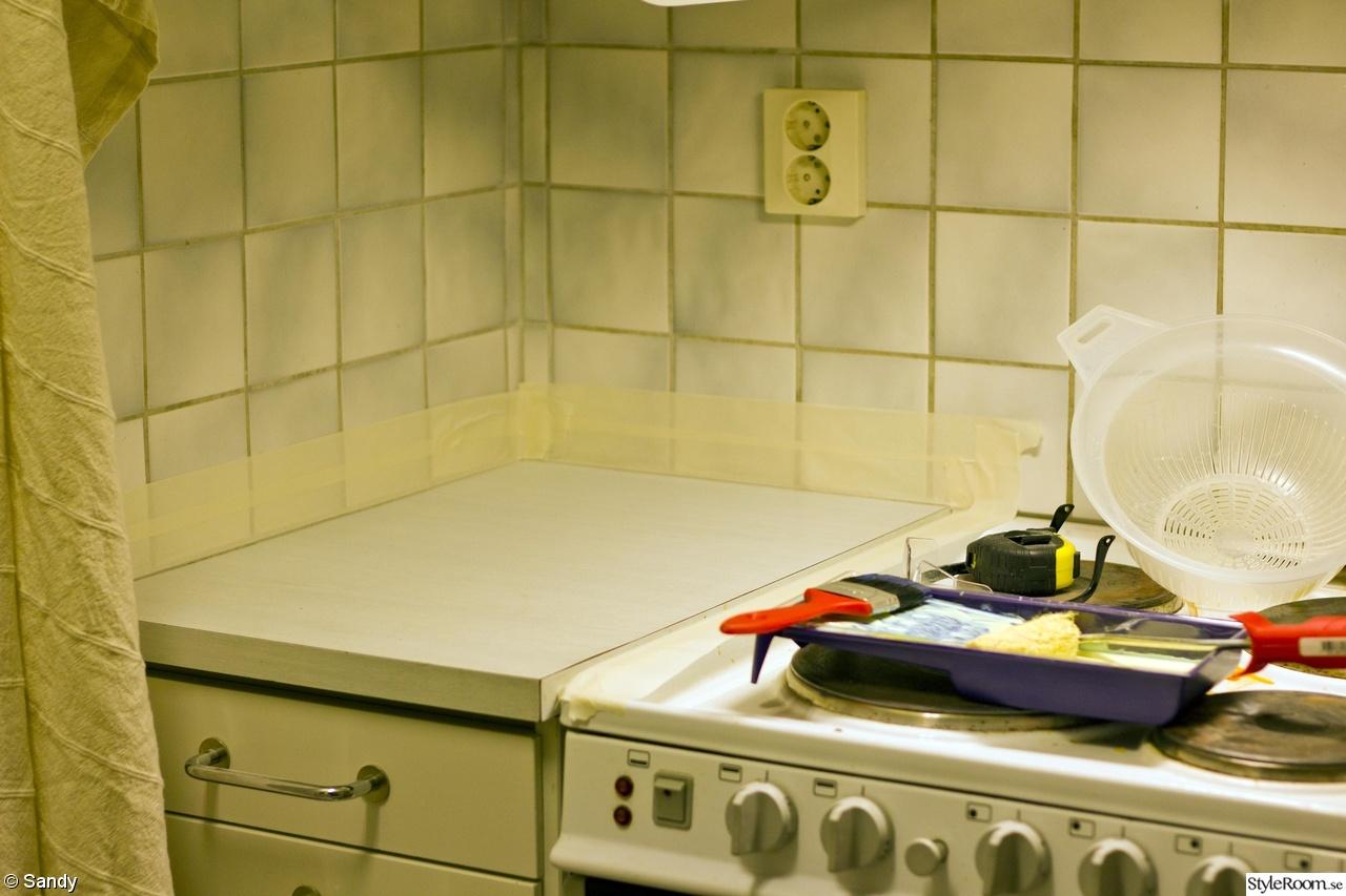 Metod Kok Matt : mosaik koksbonk  Budgetrenovering i kok for tvo nyborjare och