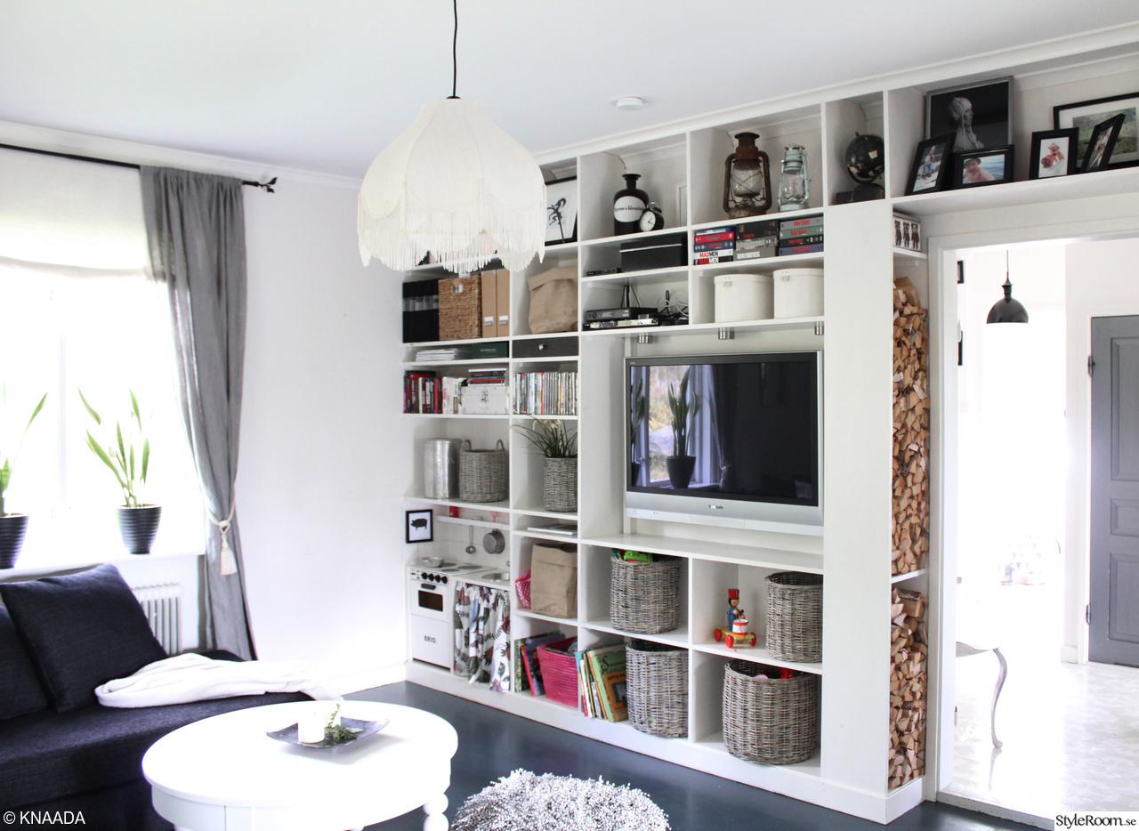 Hylla i vardagsrum - Inspiration och idéer till ditt hem