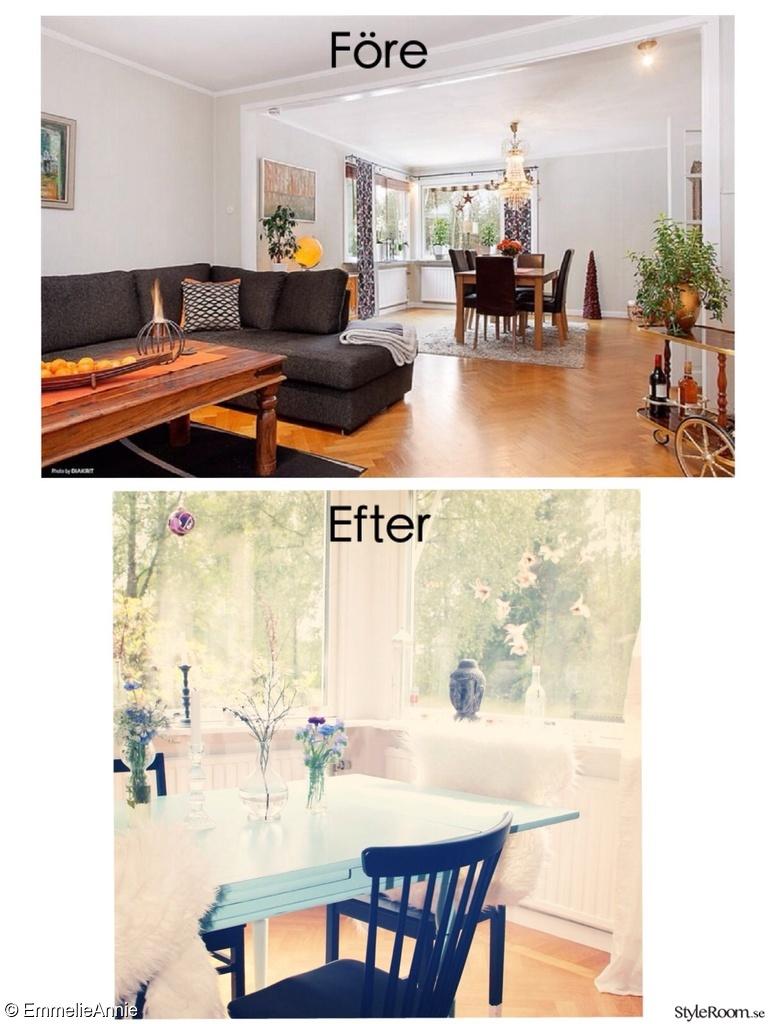 Renovering Vardagsrum - Hemma hos EmmelieAnnie