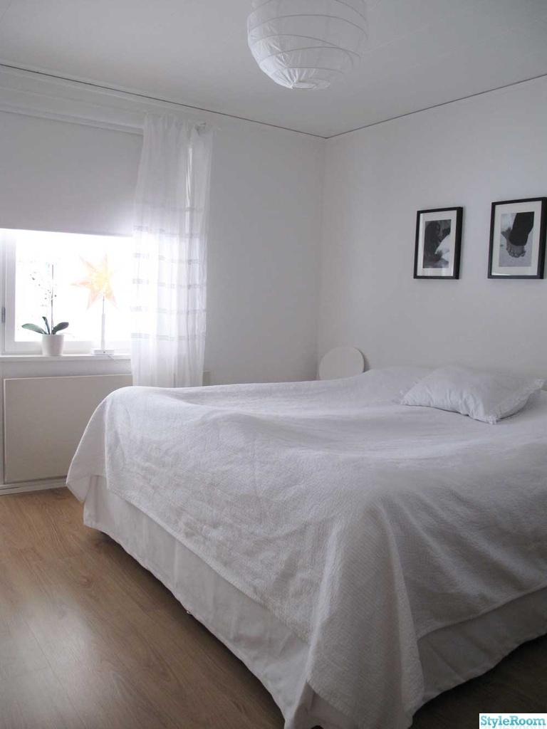 Vitt sovrum - Inspiration och idéer till ditt hem