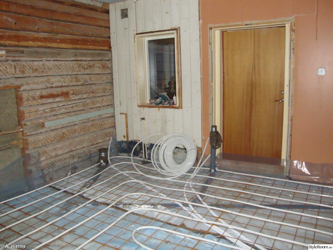 Bild på värmeslingor   renoveringsobjektet! av ricke