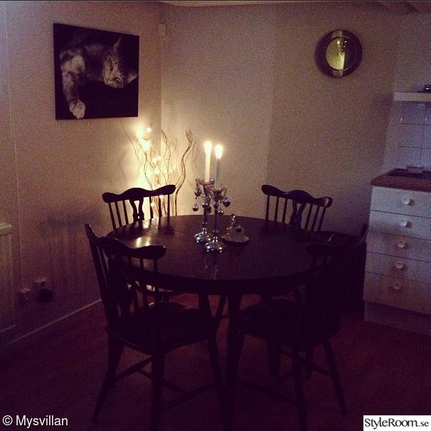 Inspiration Kok Radhus : litet k?k runt bord k?ksbord matplats litet k ...